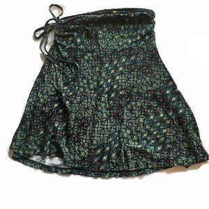 Patagonia Lithia skirt/halter top Maharaja Endive